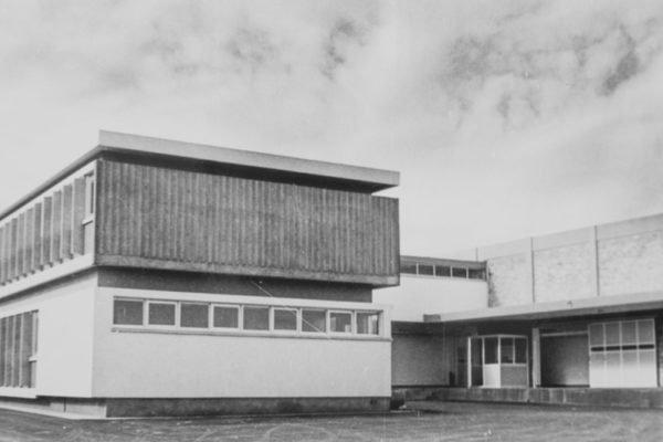 Το τότε νέο εργοστάσιο της Christis Dairies στην περιοχή Αγίου Αθανασίου στη Λεμεσό (1985)
